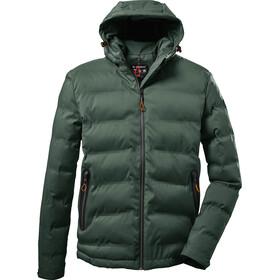 killtec KOW 151 Quilted Jacket Men, groen